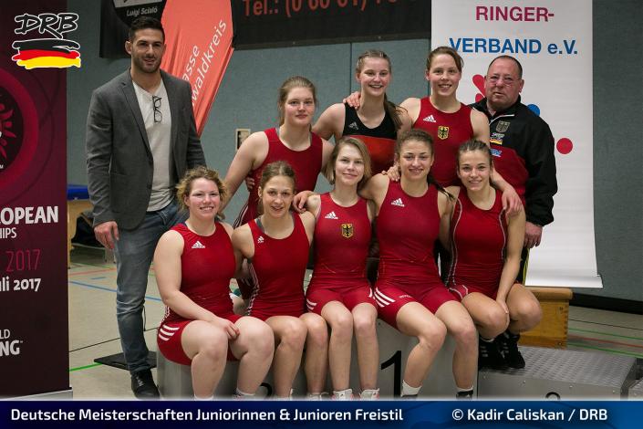 Deutsche Meisterschaften Juniorinnen 2017