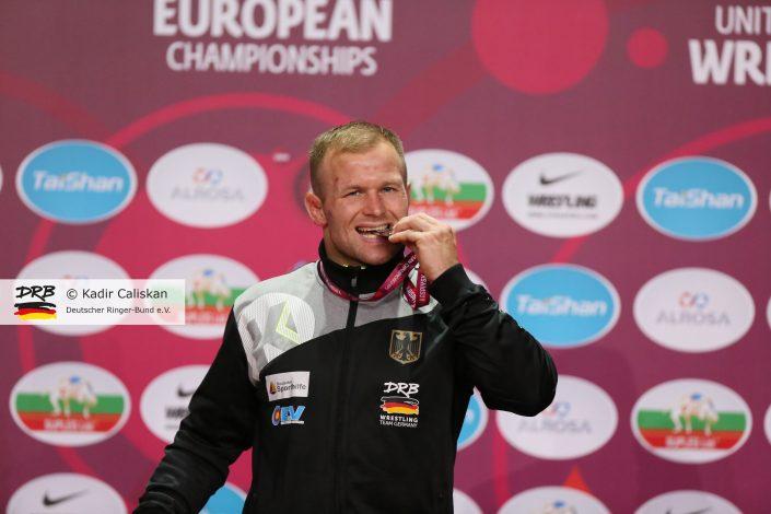 Martin Obst gewinnt EM-Silber