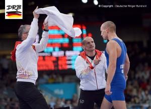 Janis Zamanduridis bei den Olympischen Spielen in London