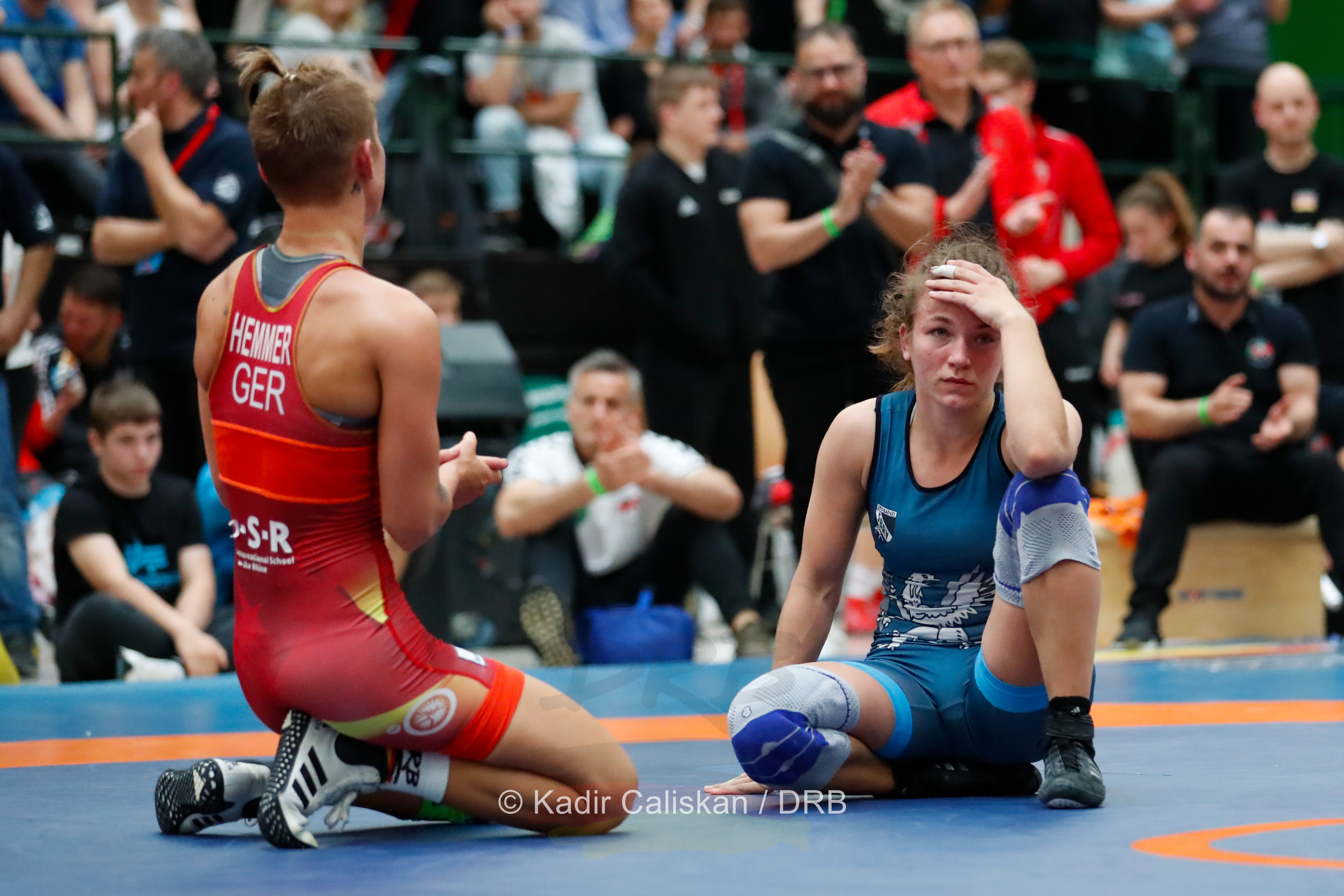 Ringen Deutsche Meisterschaften Frauen und Maenner